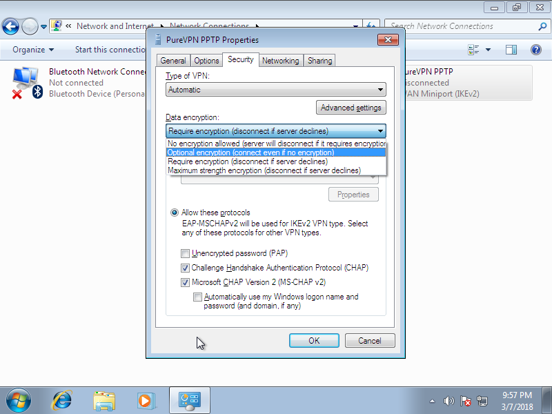 purevpn windows 7
