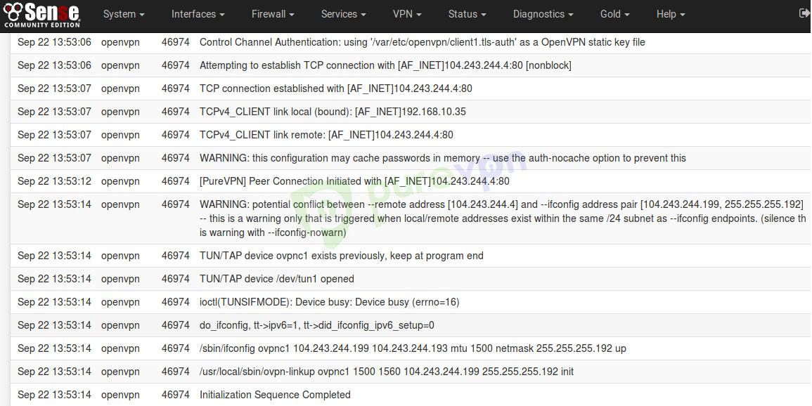 PureVPN's OpenVPN Setup Guide for pfSense (2 4 2)