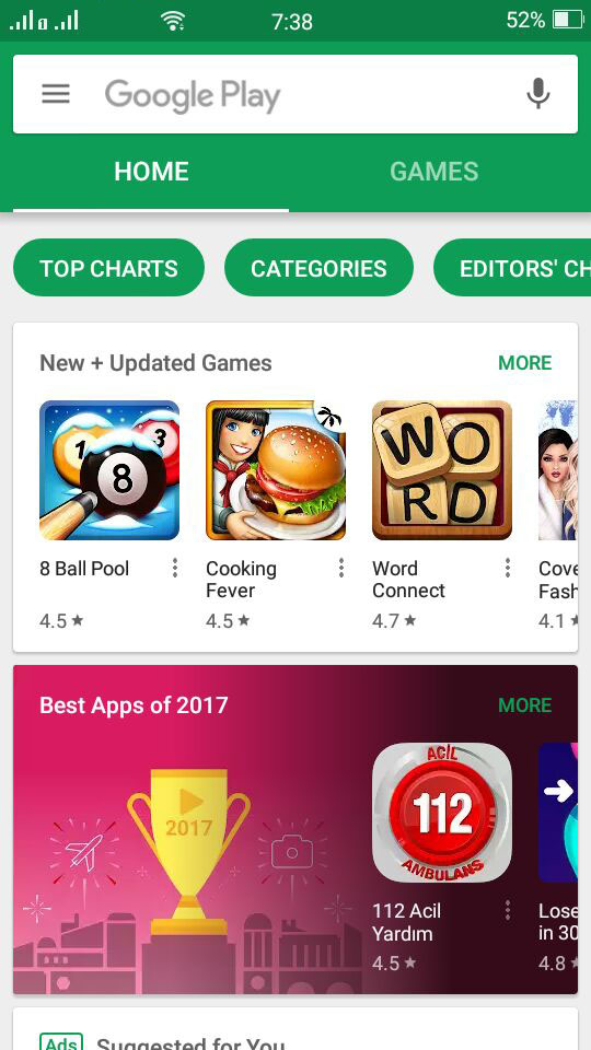 Open Google Play Store & Search for PureVPN