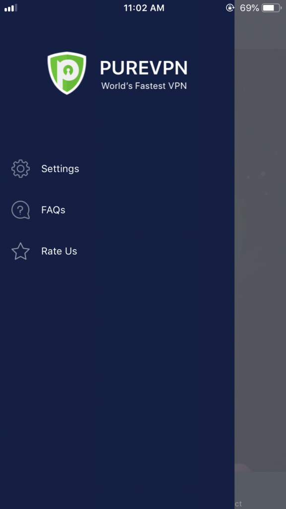 Tap settings