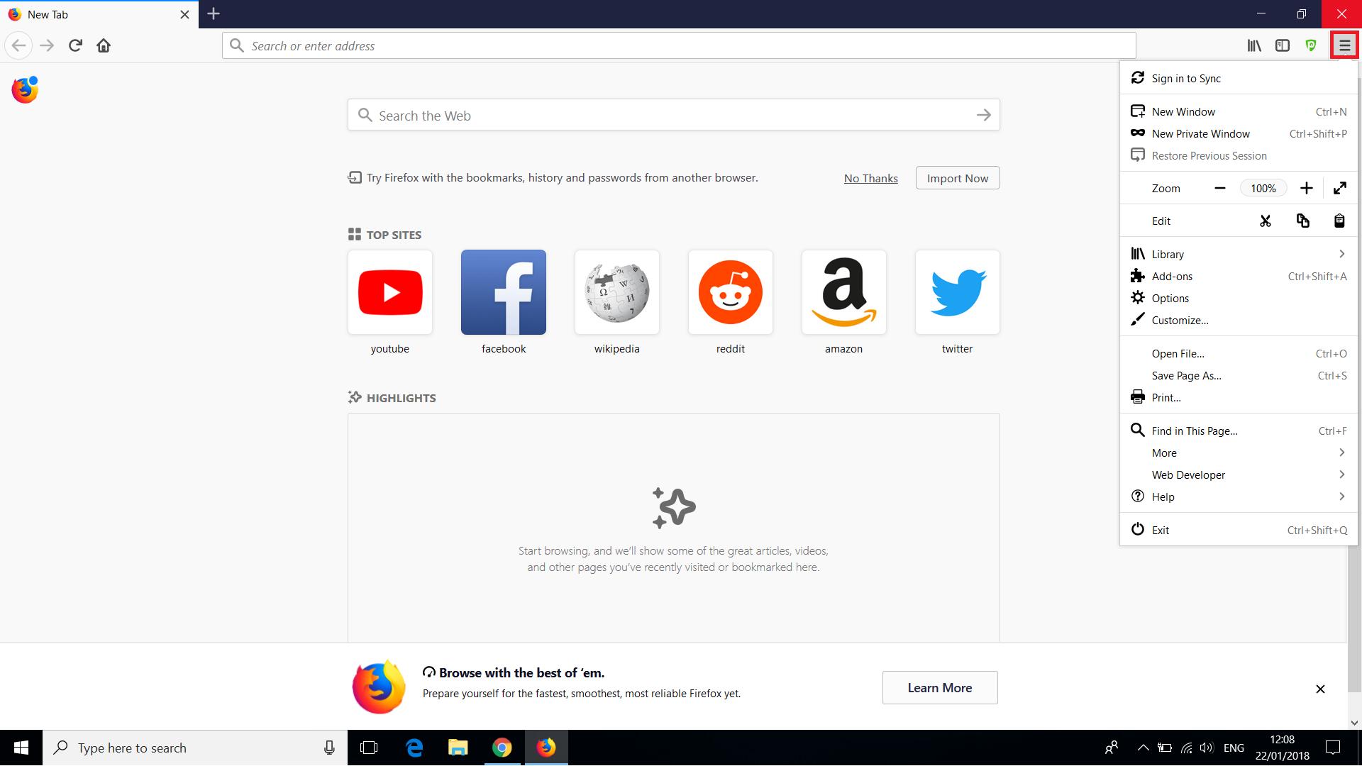 PureVPN Firefox Extension