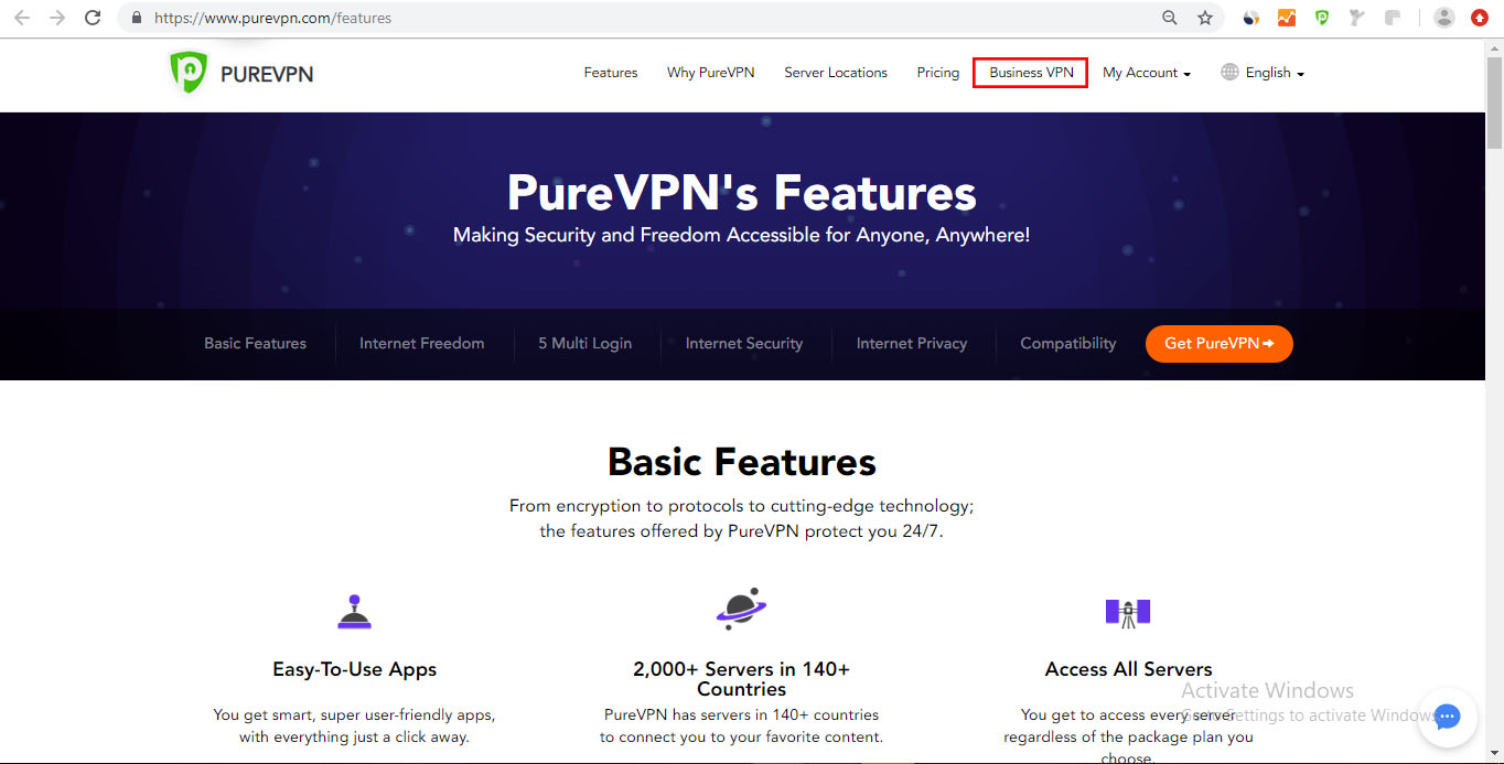 How to subscribe PureVPN Business Plan