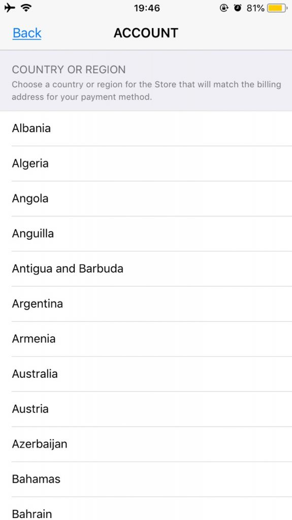 Select-New-Country-or-Region-App-store-iTunes