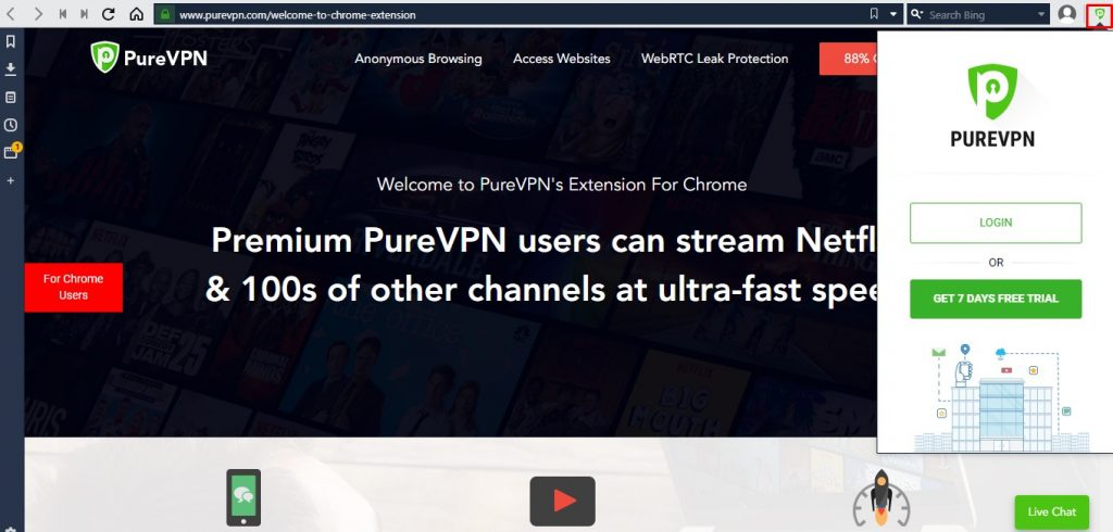 Now use VPN on your Vivaldi browser