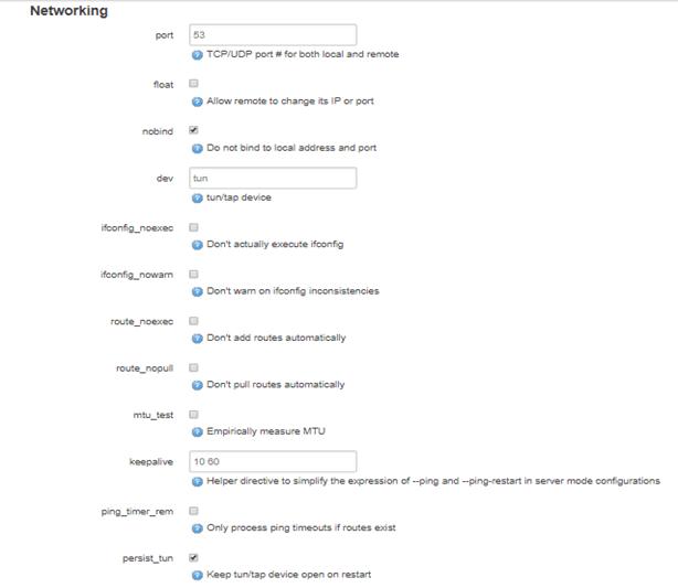 Networking Openwrt