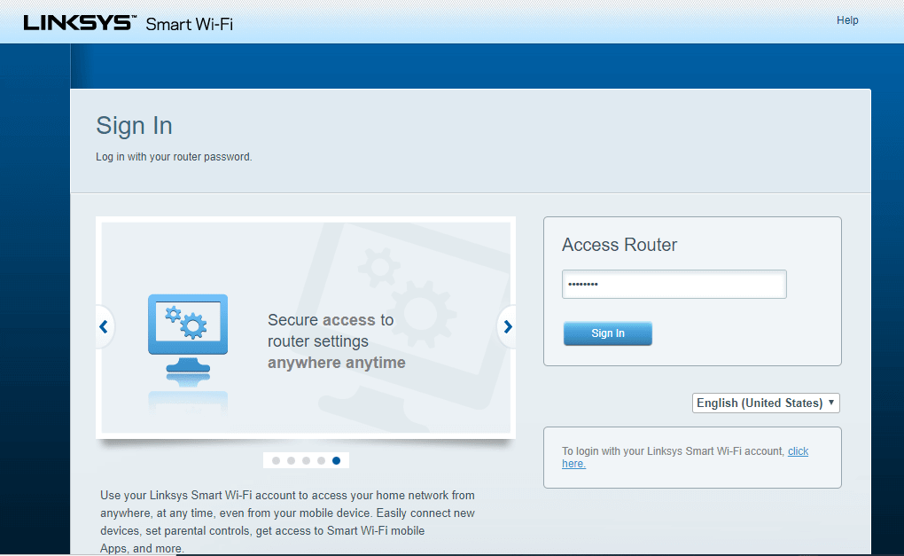set up VPN on Linksys router