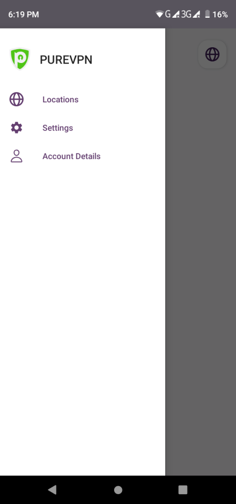 "Tap ""account Details""."