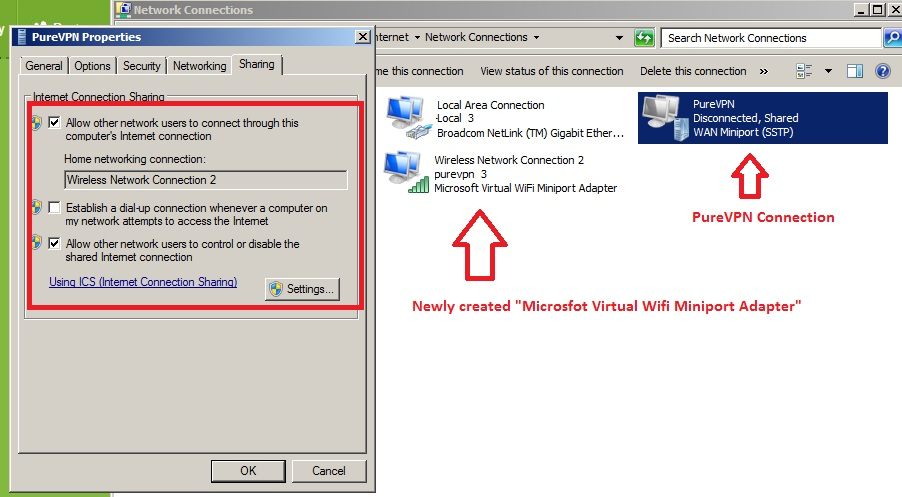 VPN-properties-setting
